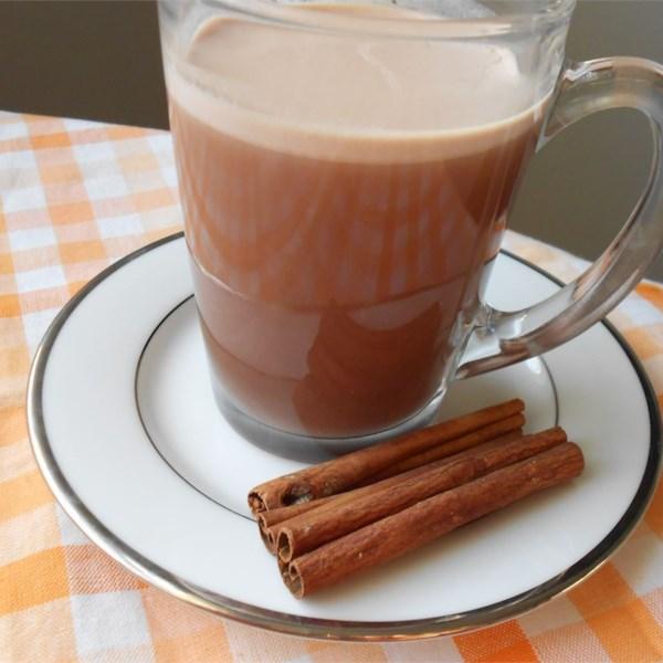 Шоколадный горячий чай