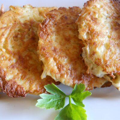 Картофельные котлеты с сыром - рецепт с фото