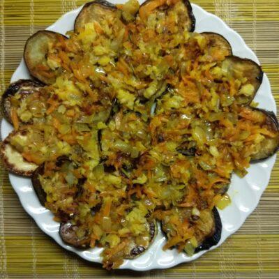 Быстрая закуска из кабачков и баклажанов - рецепт с фото