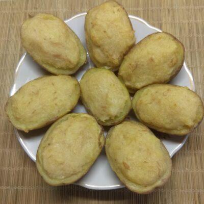 Картофель, фаршированный тунцом и пармезаном - рецепт с фото