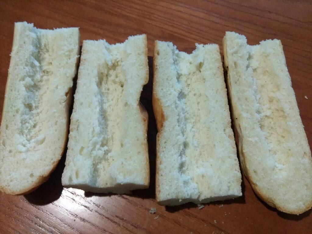 Фото рецепта - Горячие бутерброды с помидорами, болгарским перцем и шампиньонами - шаг 1