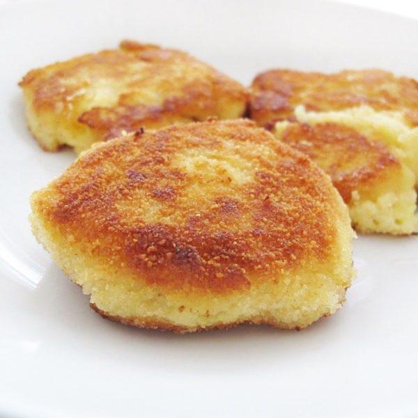 Картофельные котлеты (из остатков пюре)