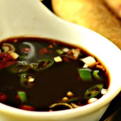Острый соус Финадени - рецепт с фото