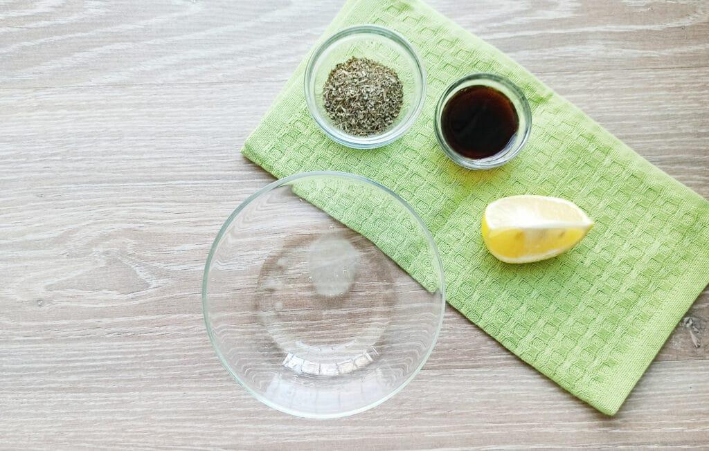 Фото рецепта - Шашлыки из королевских креветок и шампиньонов - шаг 1