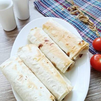 Мясные рулеты из лаваша - рецепт с фото