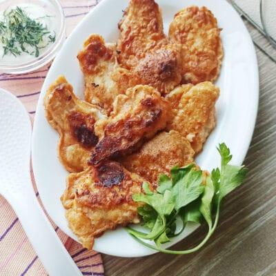 Стрипсы из куриной грудки в кляре - рецепт с фото