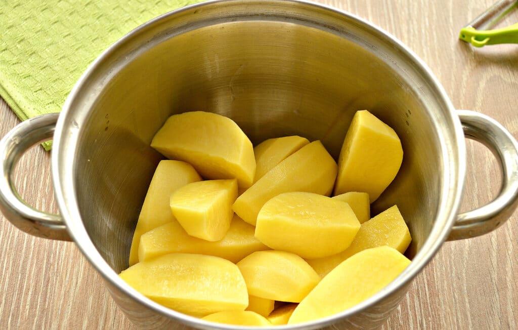 Фото рецепта - Картофельное пюре с тыквой - шаг 2