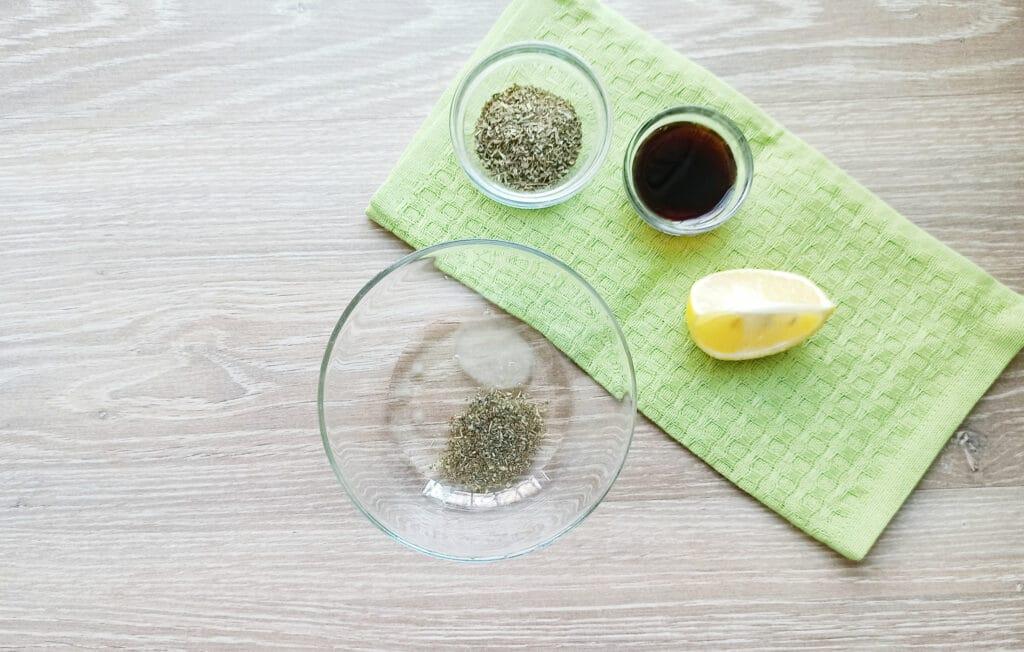 Фото рецепта - Шашлыки из королевских креветок и шампиньонов - шаг 2