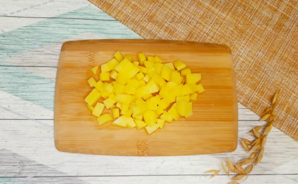Фото рецепта - Пирог из слоеного теста с картофелем и фаршем в мультиварке - шаг 2