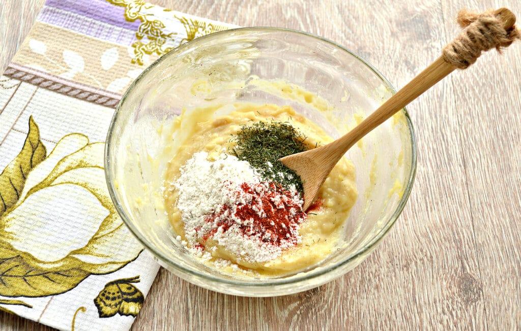 Фото рецепта - Оладьи из картошки на сковороде - шаг 3