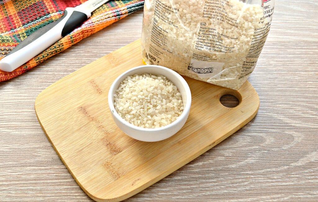 Фото рецепта - Рисовый суп с курицей и перцем - шаг 3