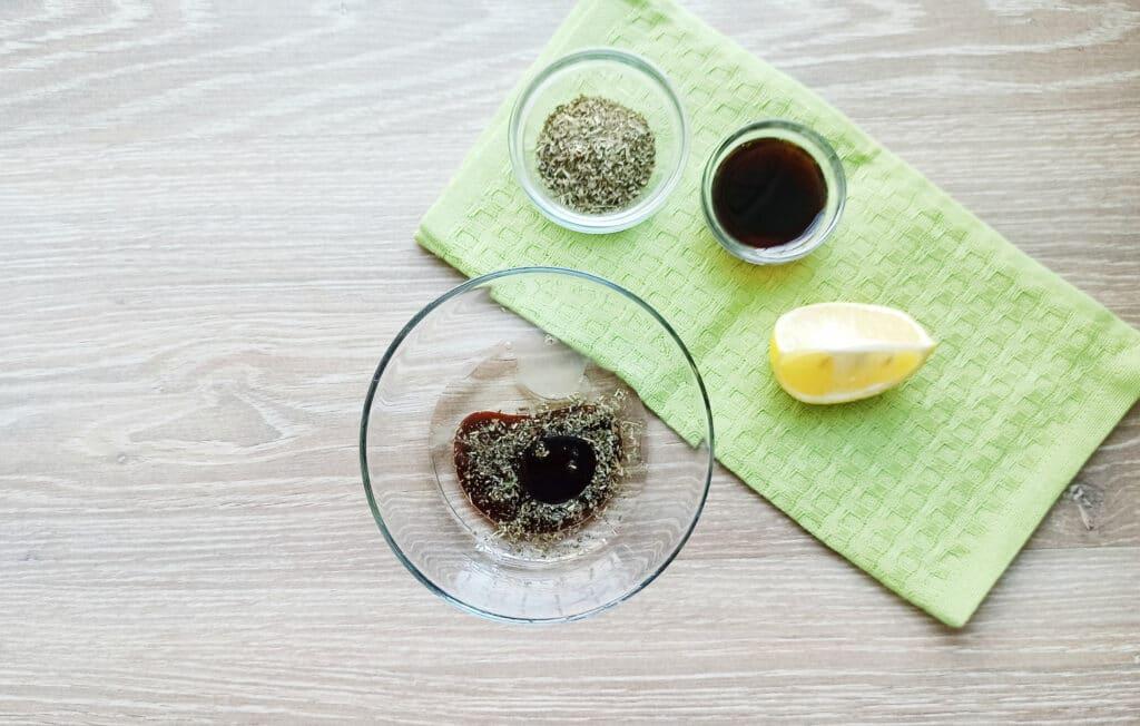 Фото рецепта - Шашлыки из королевских креветок и шампиньонов - шаг 3