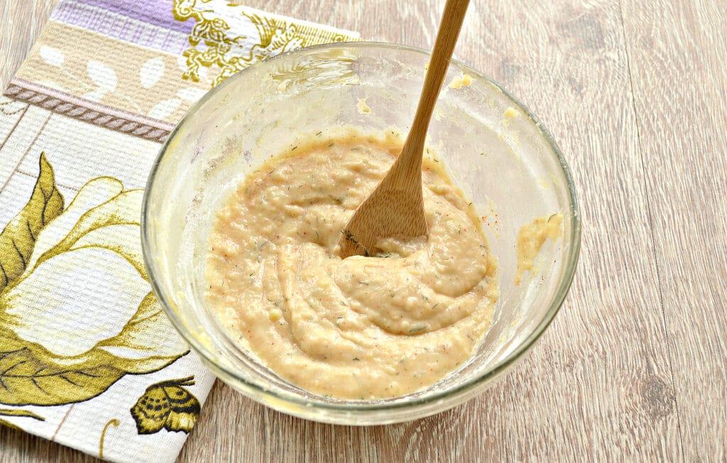 Фото рецепта - Оладьи из картошки на сковороде - шаг 4