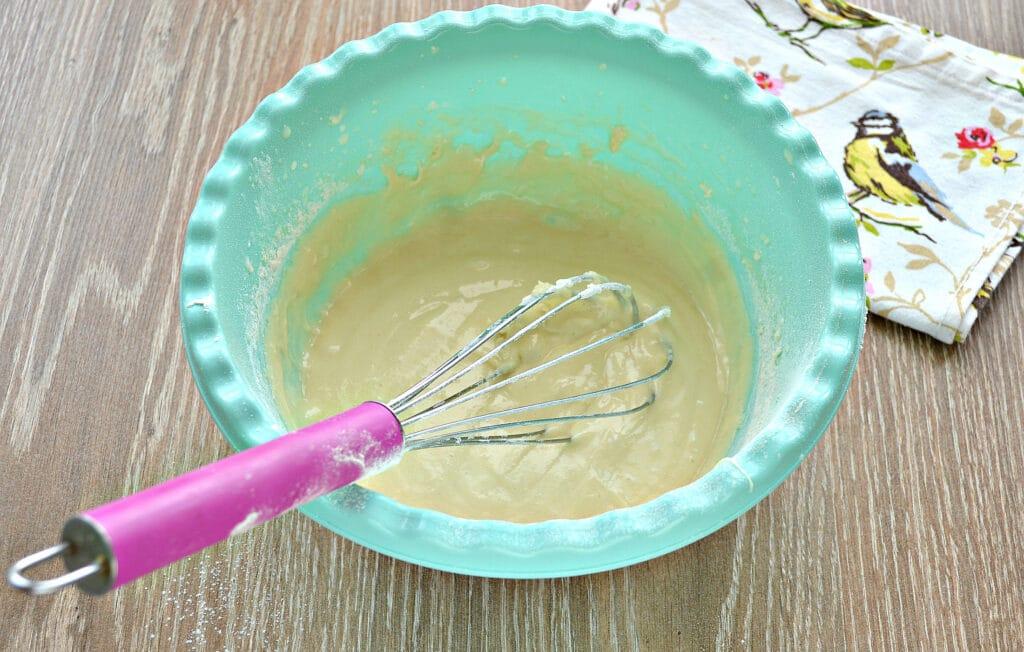 Фото рецепта - Заварные блины на сметане - шаг 4