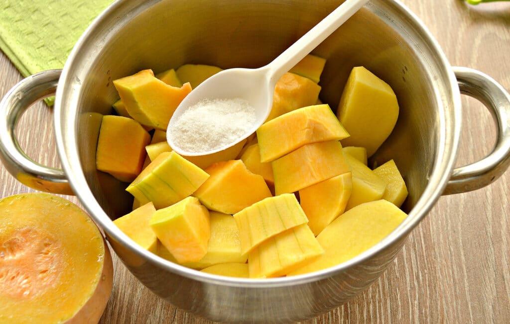 Фото рецепта - Картофельное пюре с тыквой - шаг 4
