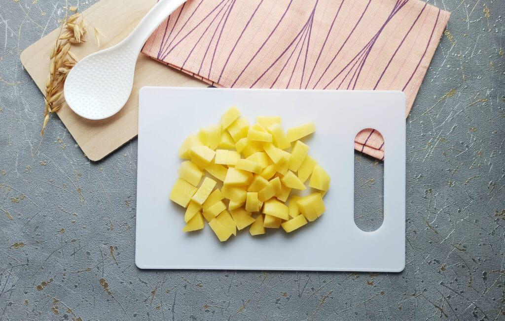 Фото рецепта - Суп с фрикадельками в мультиварке - шаг 5