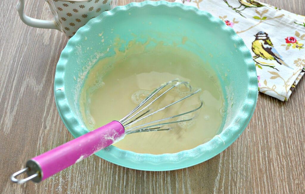 Фото рецепта - Заварные блины на сметане - шаг 5