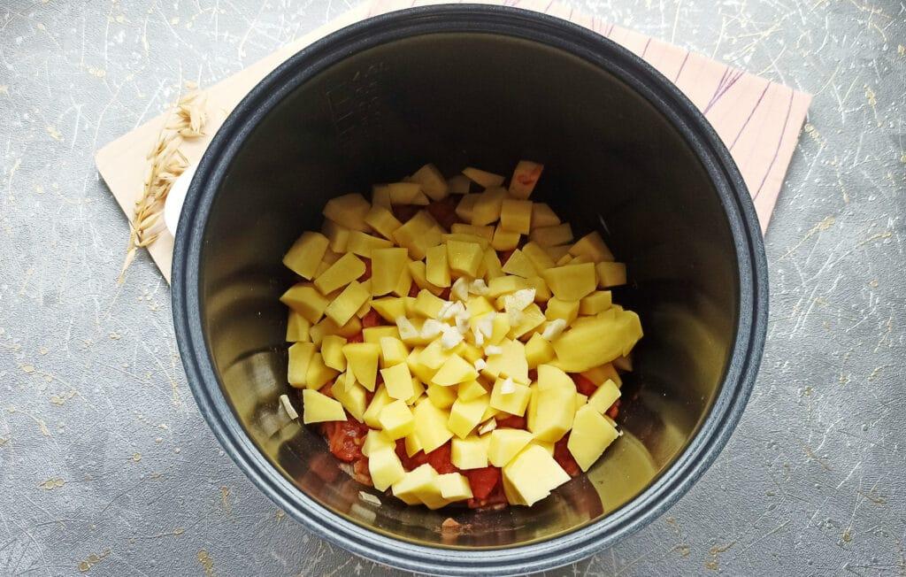 Фото рецепта - Суп с фрикадельками в мультиварке - шаг 6
