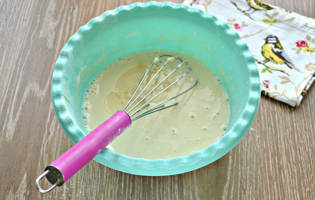 Фото рецепта - Заварные блины на сметане - шаг 6