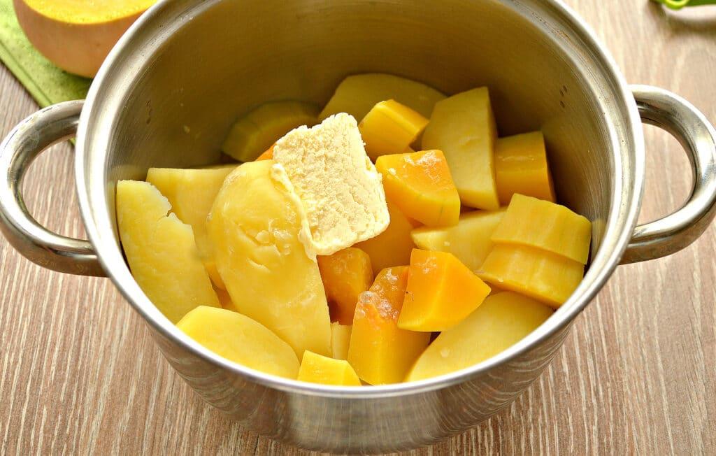 Фото рецепта - Картофельное пюре с тыквой - шаг 6
