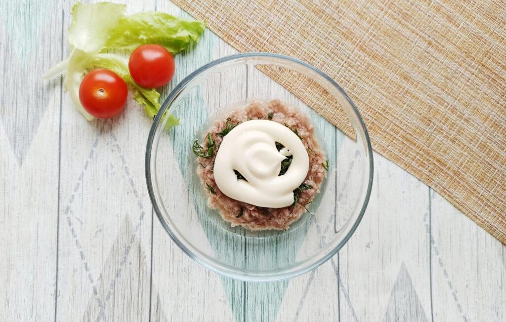 Фото рецепта - Сытная закуска с консервированным тунцом - шаг 6