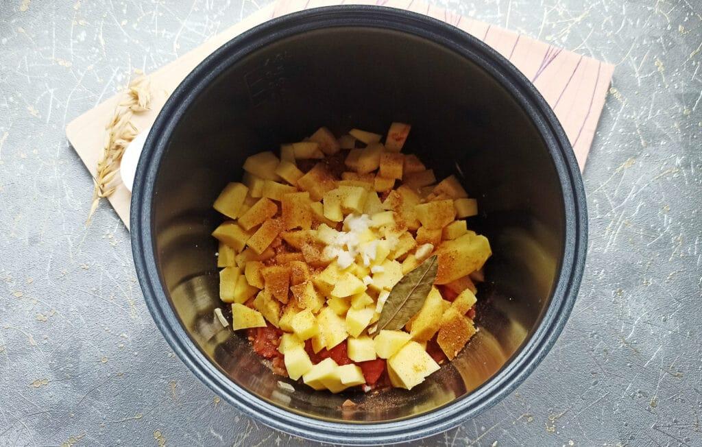 Фото рецепта - Суп с фрикадельками в мультиварке - шаг 7