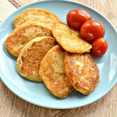 Оладьи из картошки на сковороде - рецепт с фото