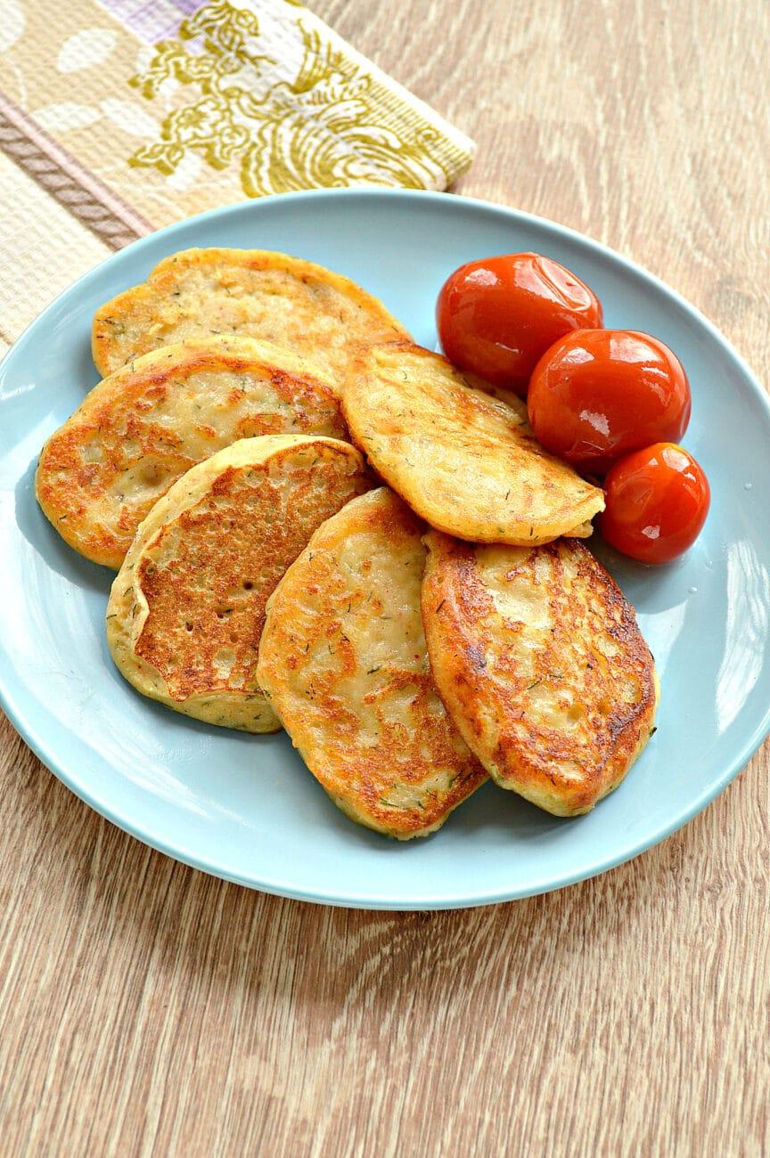 Оладьи из картошки на сковороде