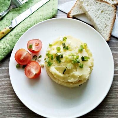 Пюре из картофеля в мультиварке с молоком и маслом - рецепт с фото