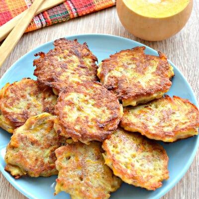 Картофельные драники с тыквой и фаршем - рецепт с фото
