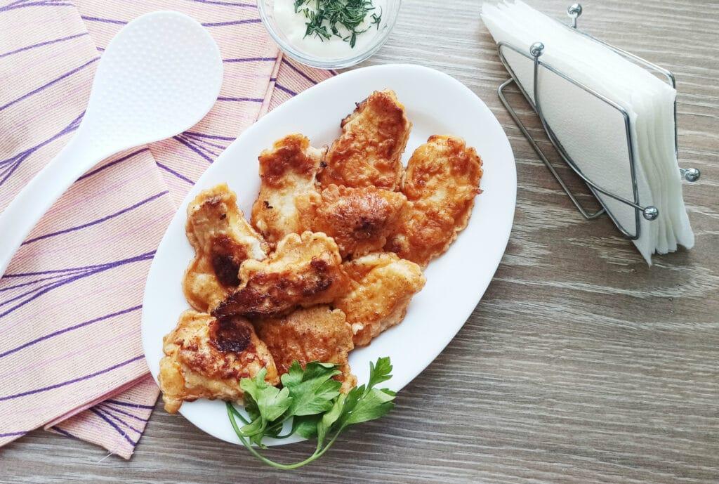 Фото рецепта - Стрипсы из куриной грудки в кляре - шаг 8