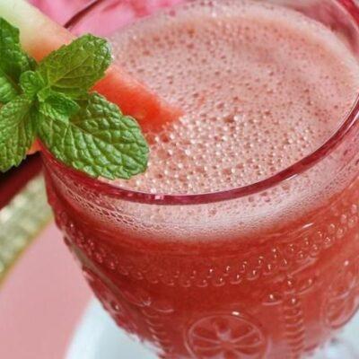 Арбузный напиток - рецепт с фото