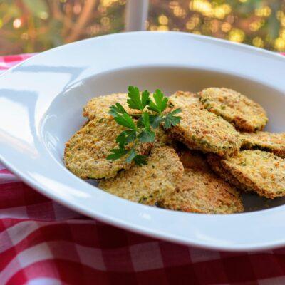 Жареные кабачки во фритюрнице (чипсы) - рецепт с фото