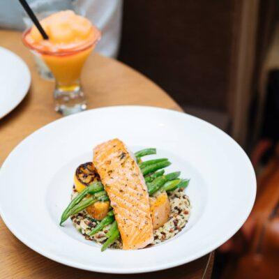 Маринованный лосось приготовленный в фольге - рецепт с фото