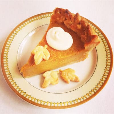 Тыквенный пирог с имбирем - рецепт с фото