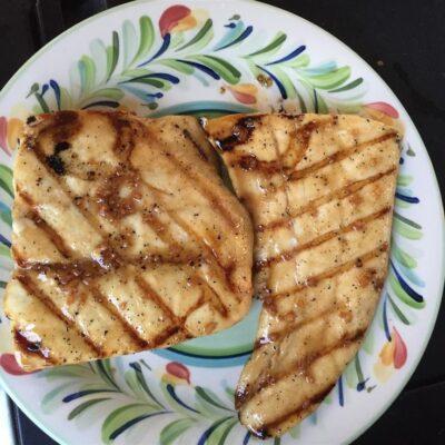 Рыбное филе палтуса на гриле - рецепт с фото