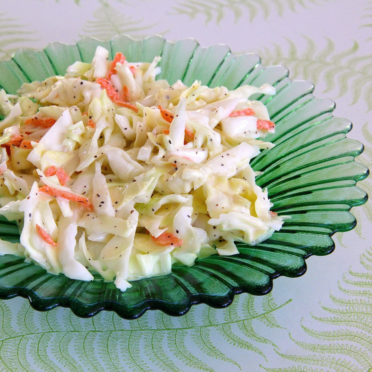 Салат из капусты с легкой заправкой
