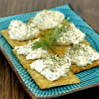Сливочный крем-намазка с лососем (для закуски) - рецепт с фото