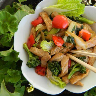 Рагу из свинины с овощами - рецепт с фото
