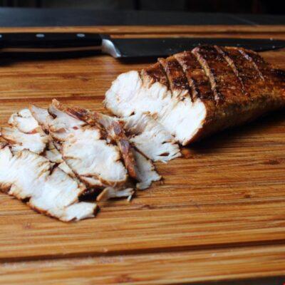 Жареная свиная корейка со специями - рецепт с фото
