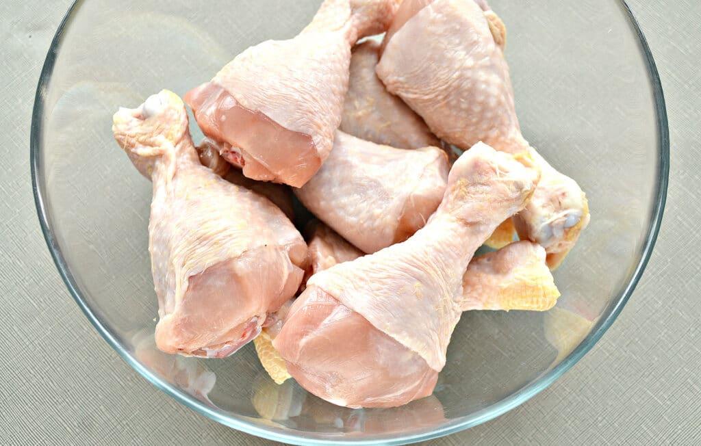 Фото рецепта - Куриные голени, запеченные в майонезе в мультиварке - шаг 1