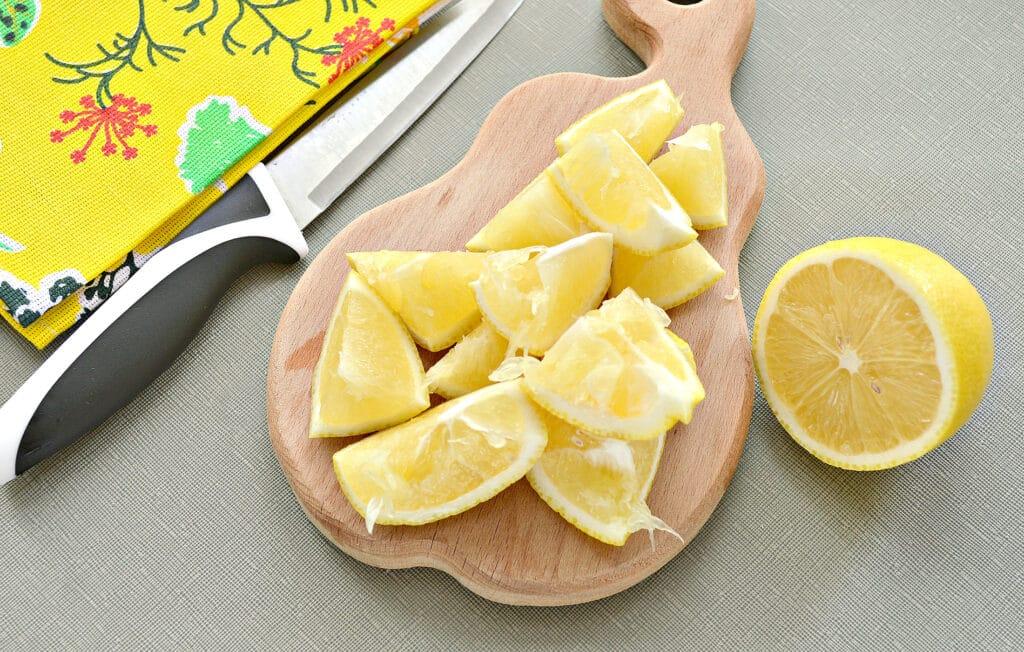 Фото рецепта - Лимоны, протертые с сахаром, на зиму - шаг 2