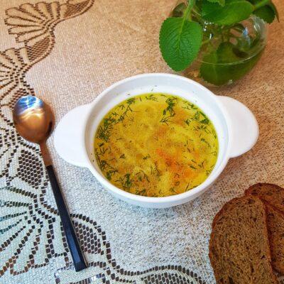 Домашняя лапша на курином бульоне - рецепт с фото