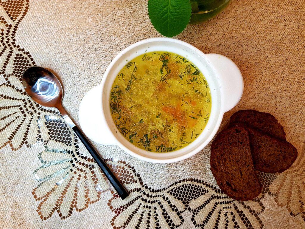 Фото рецепта - Домашняя лапша на курином бульоне - шаг 14