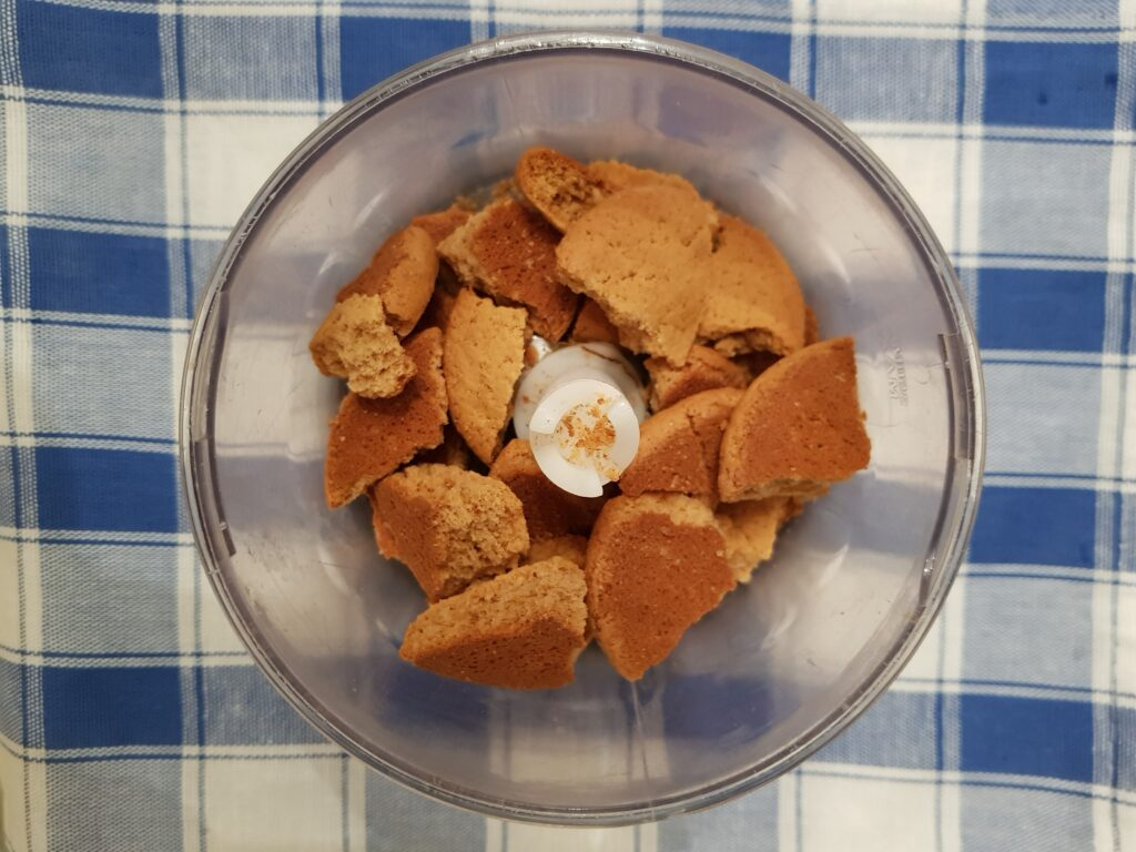 Фото рецепта - Новогодние шишки из овсяного печенья и варёной сгущёнки без выпечки - шаг 1