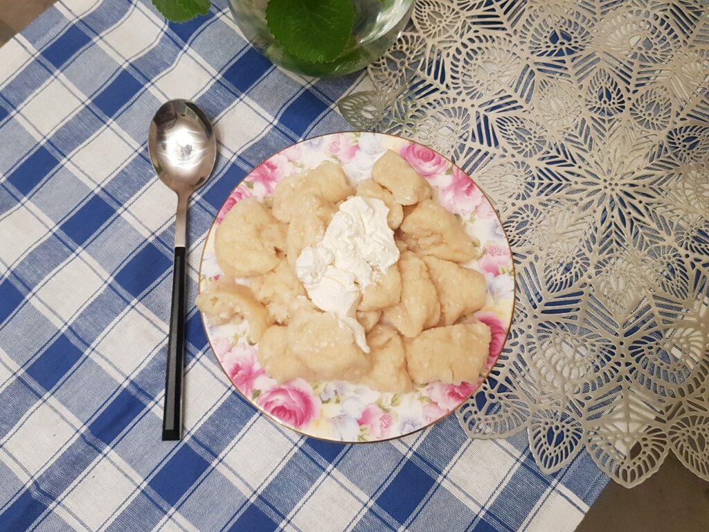 Фото рецепта - Нежные ленивые вареники - шаг 6