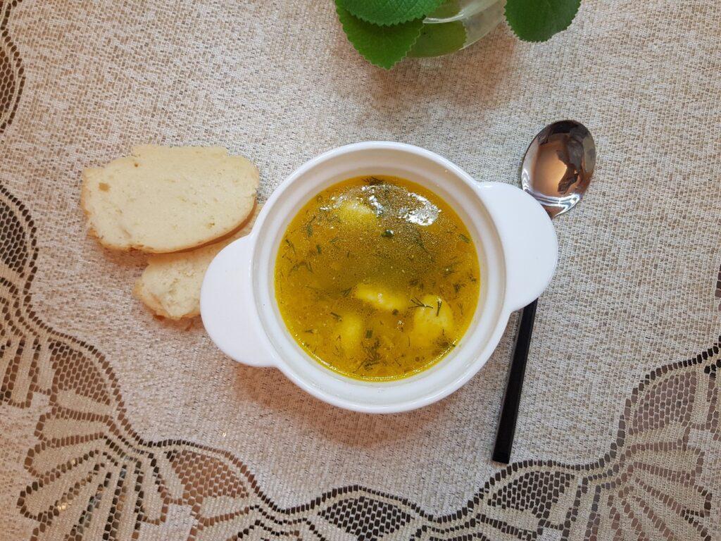 Фото рецепта - Суп с клёцками - шаг 11