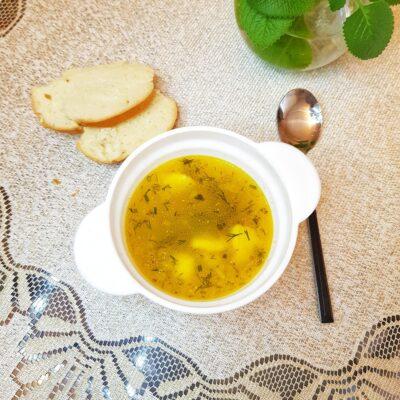 Суп с клёцками - рецепт с фото
