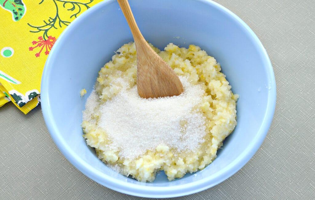 Фото рецепта - Лимоны, протертые с сахаром, на зиму - шаг 4