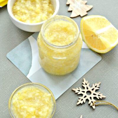 Лимоны, протертые с сахаром, на зиму - рецепт с фото